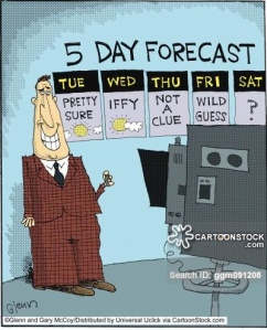 5 day forecast.